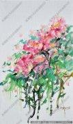 李广明油画花卉《红韵》欣赏 下载