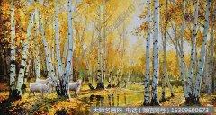 李寿远风景油画《沐秋》欣赏 下载