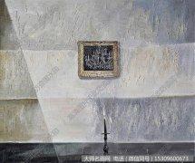 何杰静物油画《永痕一灯》欣赏 下载