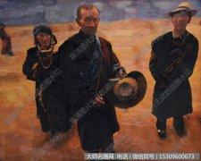 陈逸飞人物油画《高原藏人》欣赏下载