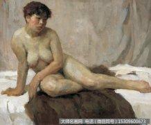 张义波油画人体《女人体》欣赏