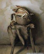 孙印昌油画静物《老玉米》欣赏
