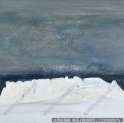张成抽象油画《交河故城——之二》欣赏下载