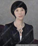 忻东旺油画人物《姚林》欣赏下载