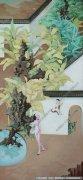 兰子油画抽象《珠玉》欣赏下载