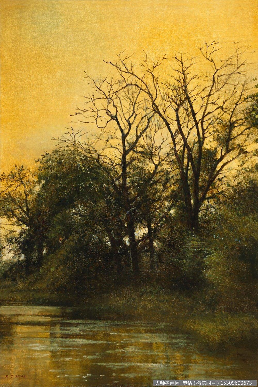 薛军风景油画《俄罗斯纪行之五》欣赏