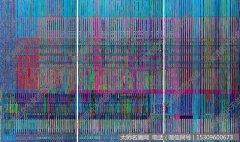 刘韡抽象油画《真实的维度No.18》欣赏下载